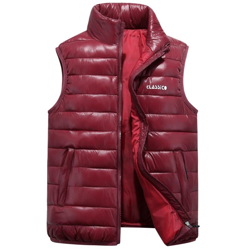 Brieuces hiver gilet femme gilet femmes grande taille 6XL thermique gilets pour femmes gilet femmes et hommes sans manches veste 2019