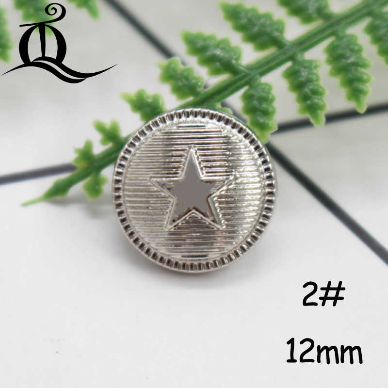 10-12mm Mix British Style High-grade Lion Metal Buttons Wheat Round Coat Jacket Sweater Clothing Garment Accessories Diy Mate Buttons Apparel Sewing & Fabric