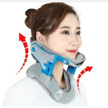 U-type Cervical Traction Correction Height Adjustable Medical Neck Fixed Stretch Warm Cover Hot Compress Men And Women Care