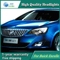 Car Styling Head Lamp case for Opel Astra Headlights LED Headlight DRL Lens Double Beam Bi Xenon HID car Accessories