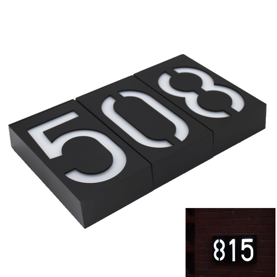 Solar Led Light Solar 6 LED Illumination Doorplate Lamp House Number Outdoor Lighting Porch Lights With Solar Battery цены