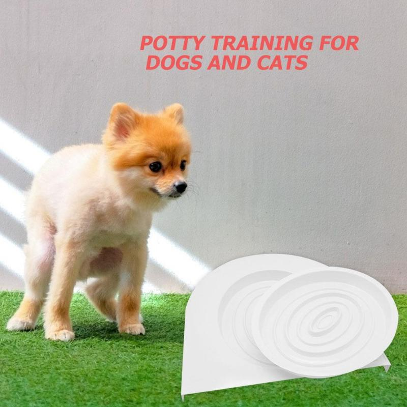 Pet Cat Toilet Seat Training Kit Plastic Puppy Litter Potty Tray Pets Cleaning Supplies Healthy Pet Cats Human Toilet 2019 New in Cat Litter Boxes from Home Garden