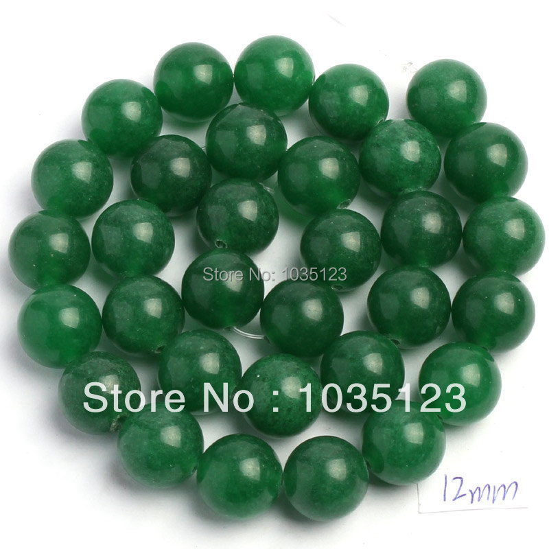 Free Shipping 12mm Natural Green Aventurine Round Shape Loose Beads Strand 15 DIY Creative Jewellery Making w97