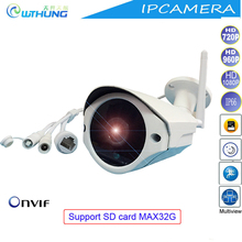 Wireless wired IP Wifi camera 720P 960P 1080P CMOS Sensor Support Onvif SD card motion detector