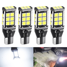 4pcs T15 W16W LED Bulbs 921 912 Canbus Error Free Backup Light 3030 SMD 6000K White Auto Car Wedge Reverse Parking Lamp DC 12V цены онлайн