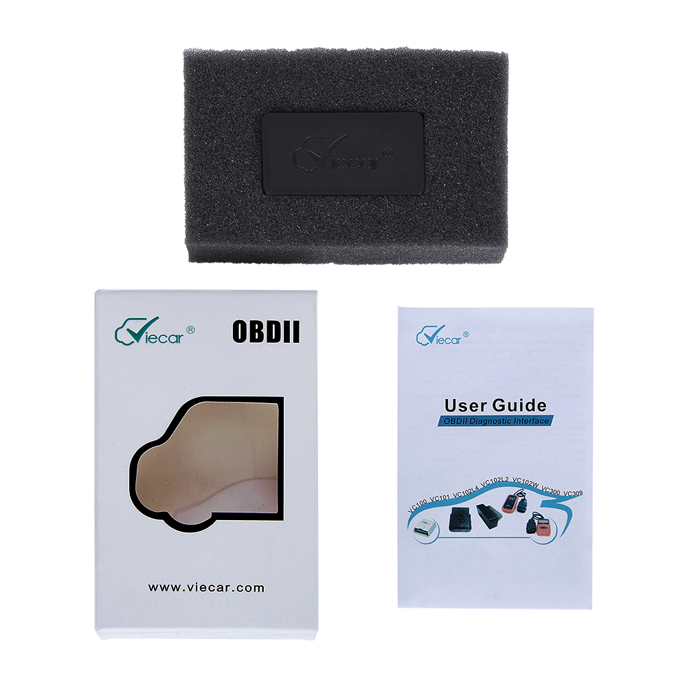 Mini <font><b>Viecar</b></font> <font><b>Bluetooth</b></font> 4,0 Schnittstelle OBD 2 OBD Diagnose ELM327 Auto Auto Scanner Diagnose-Tool für IOS Android Scanner Tool image