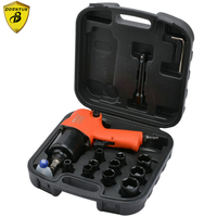Borntun 1/2 Double hammer Pneumatic Air Impact Wrench Industrial 2 hammer 12.7mm Car Tyre Repairing Maintenance Pneumatic Tools
