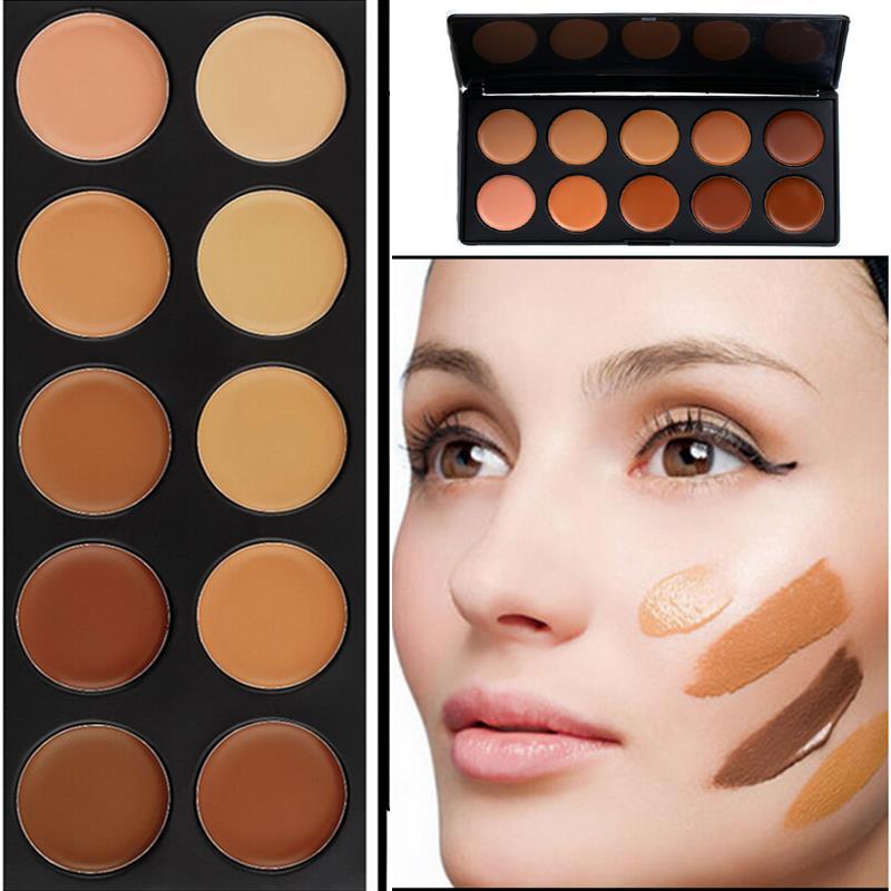 maquillaje base y corrector