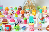 100pcs 1lot Shopkin Food Fruit Random 1 3cm Minifigures Cartoon Toys Action Figure Toy For Children