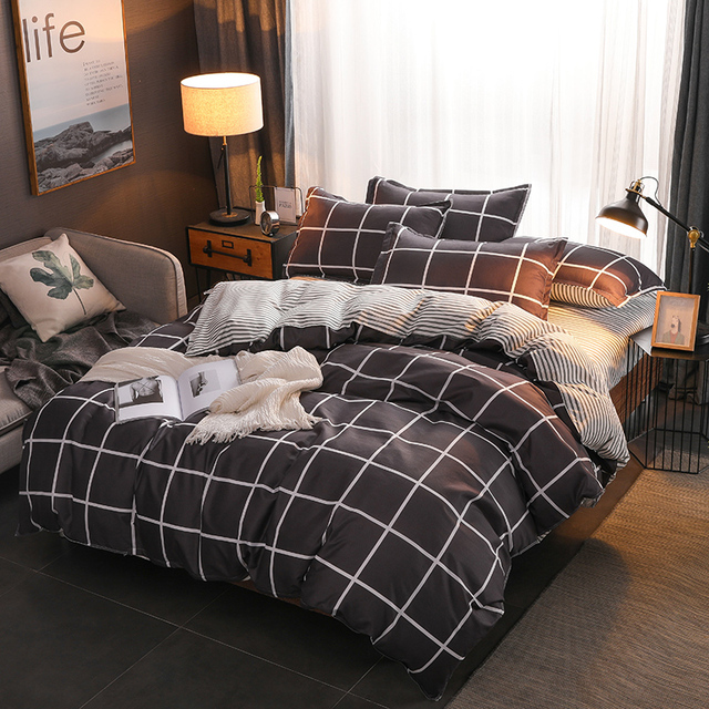 BEST.WENSD flamingo pineapple comforter sets korean Bedding set duvet cover king size 2018 acolchados cama doble-luxury bedsheet