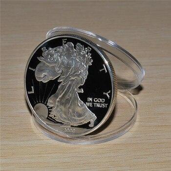 Hors-circulation Halogram 2000 American Eagle Silver Dollar 1 Oz Silver Coin Livraison Gratuite