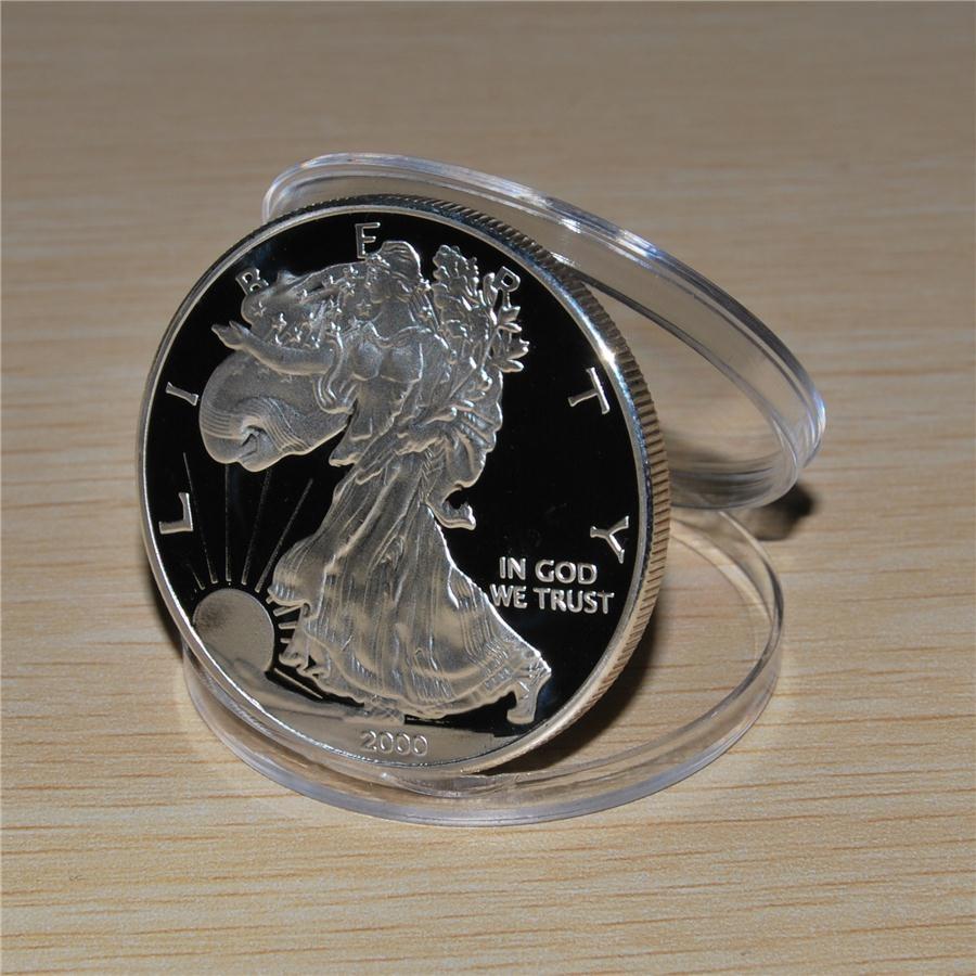 Американский серебряный доллар монеты