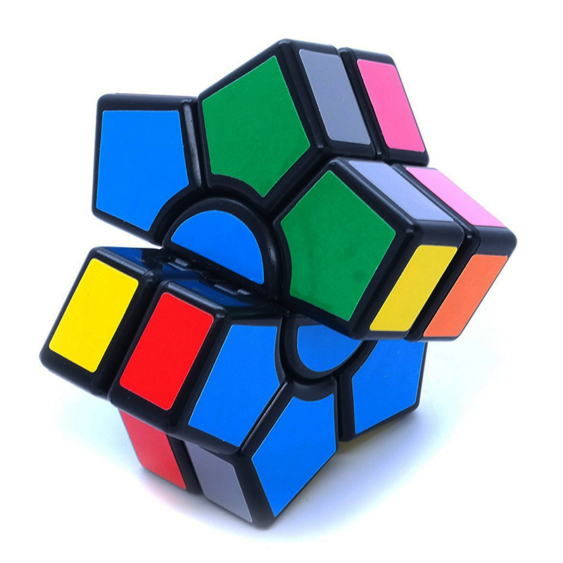 New Arrival 2-layers Super Square-1 Star Hexagonal Magic Cube David - ფაზლები - ფოტო 4