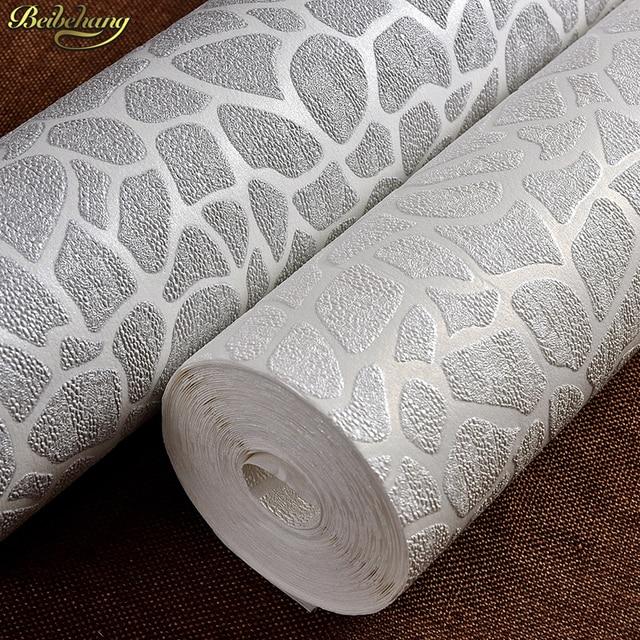 Beibehang Weiß stein tapete shop grau mode einfachen modernen ...