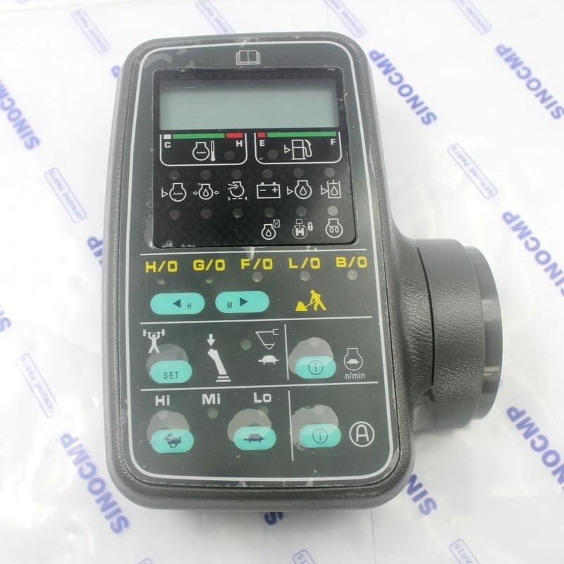 PC130LC-6 PC220LC-6 Mointor LCD Display Panel 7834-71-6001 für Komatsu Bagger, 1 jahr garantie