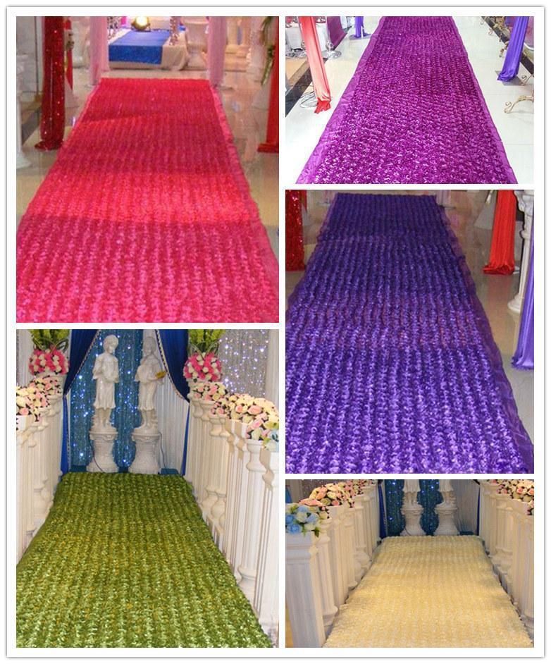 Venta de alfombras de boda románticas favores de la boda 3D Rose - Para fiestas y celebraciones
