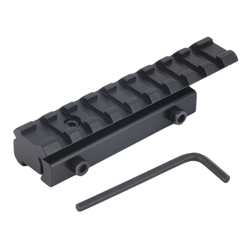 Hunting Outdoor Accessories 11mm To 20mm Dovetail Weaver Picatinny Rail Adapter Converter Mount Scope Base Military Gear