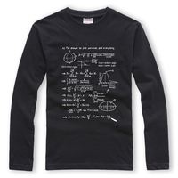 2016 Boys New Year Gift Long Sleeve T Shirt Print The Hitchhiker S Guide To The