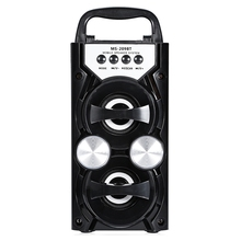 Hot Portable Ms 209Bt Card Wireless Bluetooth Speaker Fm Radio Outdoor Speaker Audio High Power Tf Usb Music Speakers