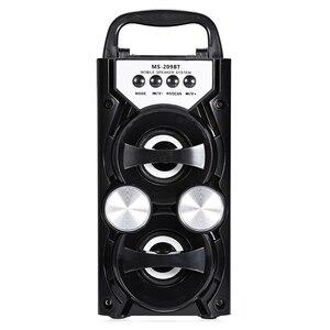 Image 1 - Nóng Di Động Ms 209Bt Thẻ Loa Bluetooth Không Dây Fm Radio Loa Ngoài Trời Âm Thanh Cao Cấp Tf Usb Nhạc
