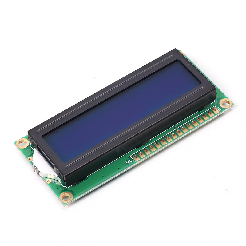 White LCD 1602 DC 3.3V-5V Blue Background IIC SPI 16x2 Display Module for Arduino LCD Blue Display NEW