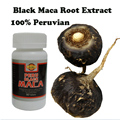 (2 botellas x 90 unidades/Botella) Negro polvo de Maca Lepidium meyenii extractos 100% pura masculina salud suplemento