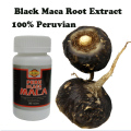 (2 bottles x 90 pieces /Bottle) Black Maca powder extracts 100% pure Lepidium meyenii male health supplement