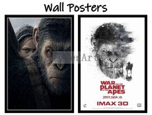 War for the Planet of the Apes Movie Home Decorative Painting White Kraft Paper Poster 42X30cm цены