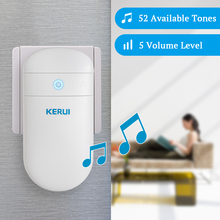 KERUI Adjustable Volume Levels Doorbell M518 Home Self Generation Wireless Smart Electronic Remote Control