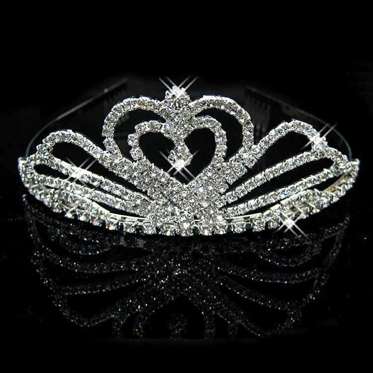 ... Romatic Tiaras and Crowns Wedding Hair Accessories Bridal Crown Tiaras  for Brides Hair Ornaments Headwear Princess ... 7dd17158daa3