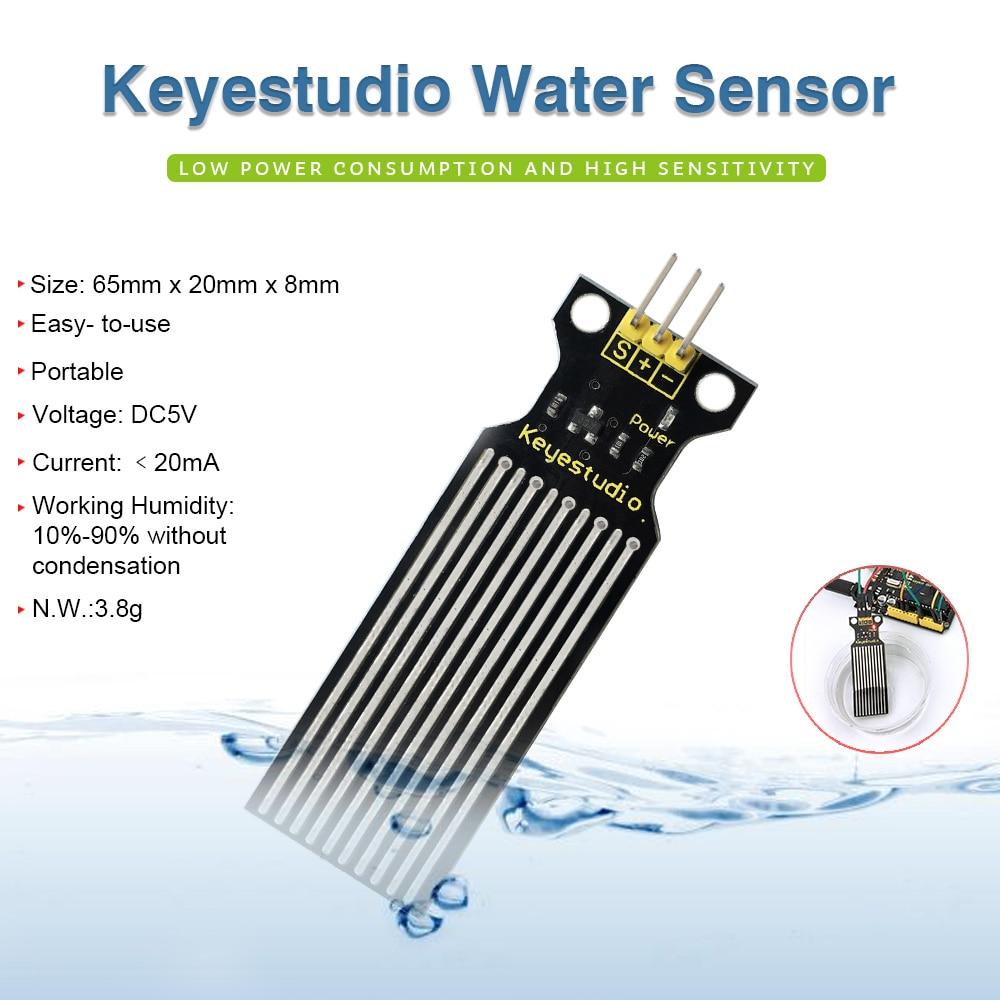 Free shipping!Keyestudio Water Sensor for Arduino