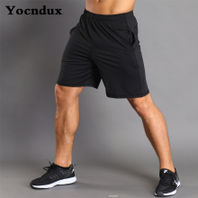 Youndux Men's Sports Running Shorts Fitness Training Shorts Tightening Straps Pocket Quick Dry Breathable Comfort Shirt Shorts