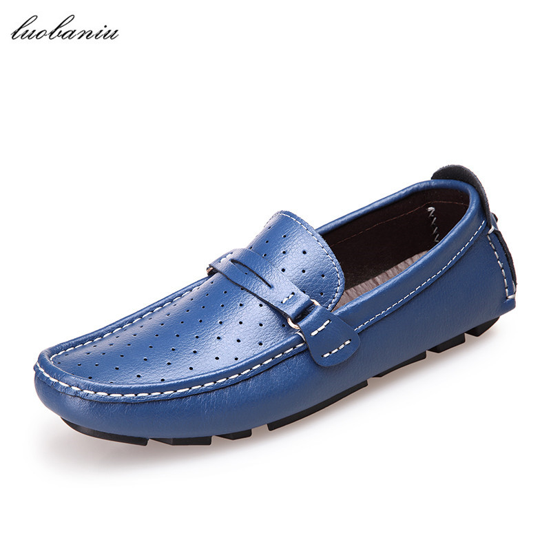 39-47 Summer Shoes Men Loafers Breathable Brand Men Shoes Casual Slip On Moccasins Men Casual Shoes pl us size 38 47 handmade genuine leather mens shoes casual men loafers fashion breathable driving shoes slip on moccasins