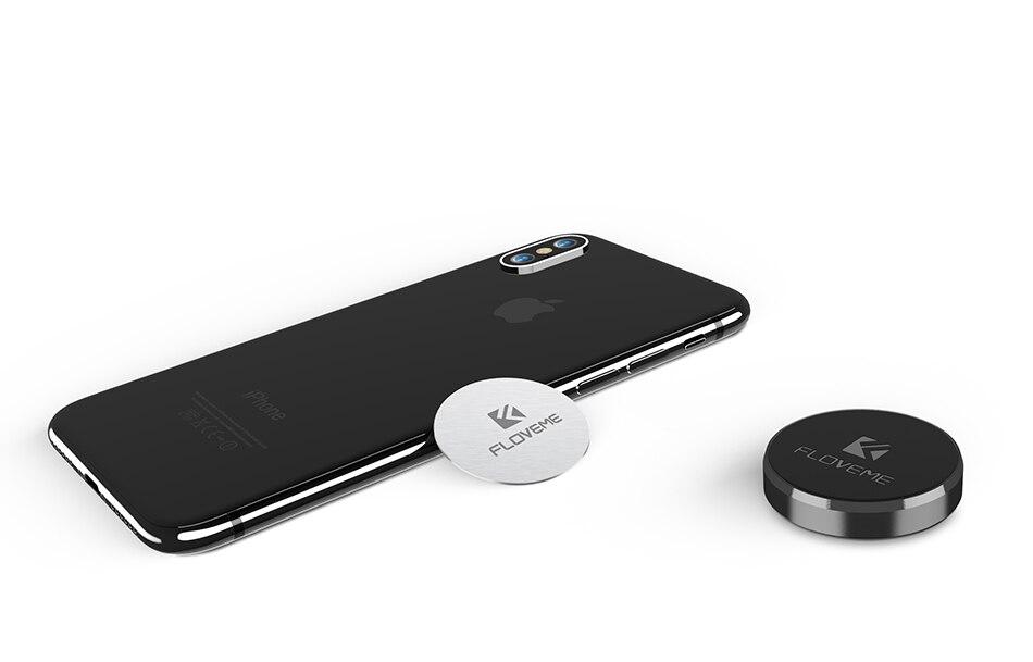 Floveme Universal Magnetische Auto Telefon Halter 2 Paket Wand Schreibtisch Magnet Aufkleber Mobilen Ständer Handy Halter Auto Montieren