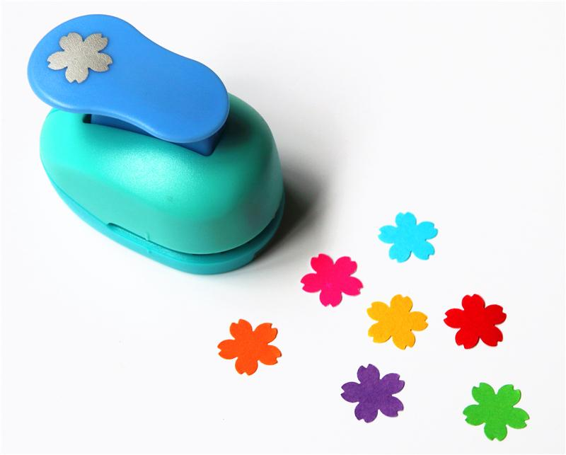 Free Shipping 15mm Flowers Paper Punches For Scrapbooking Diy Tools Shape Craft Punch Diy Puncher Paper Cutter