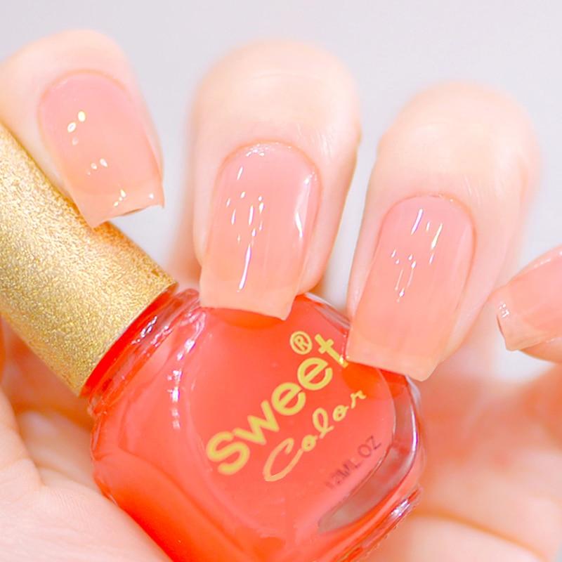 nail polish sweet color eco