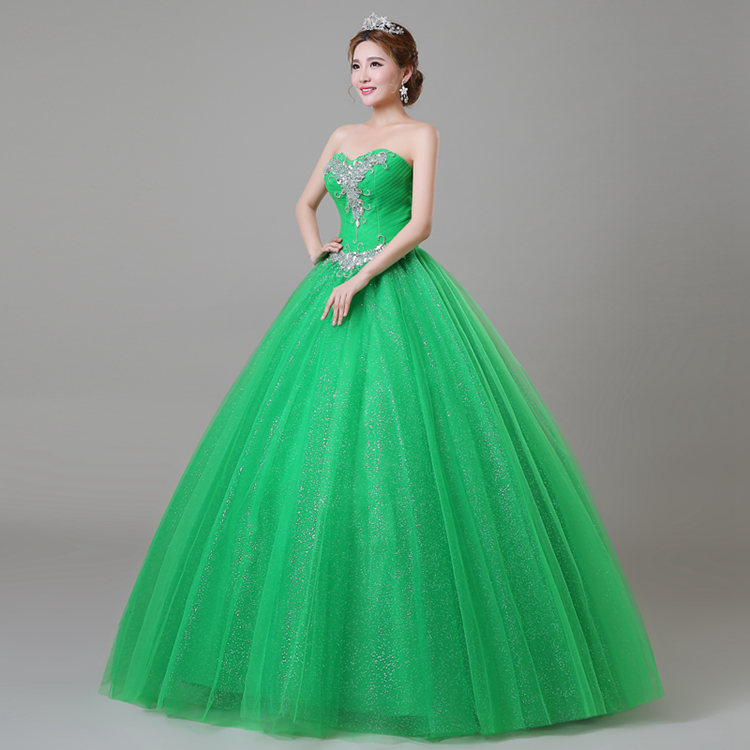 Popular Emerald Green Quinceanera Dresses-Buy Cheap Emerald Green ...