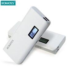 Новый romoss sense 4 плюс жк 10400 мАч внешняя батарея портативное Зарядное Устройство Мобильного Питания Банк Питания для всех Смартфонов телефоны