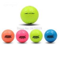 Гольф кристалл прозрачный шар 12 шт. Гольф игровой мяч два слоя высоком Класс Гольф мяч оптом прямого производителя продвижение