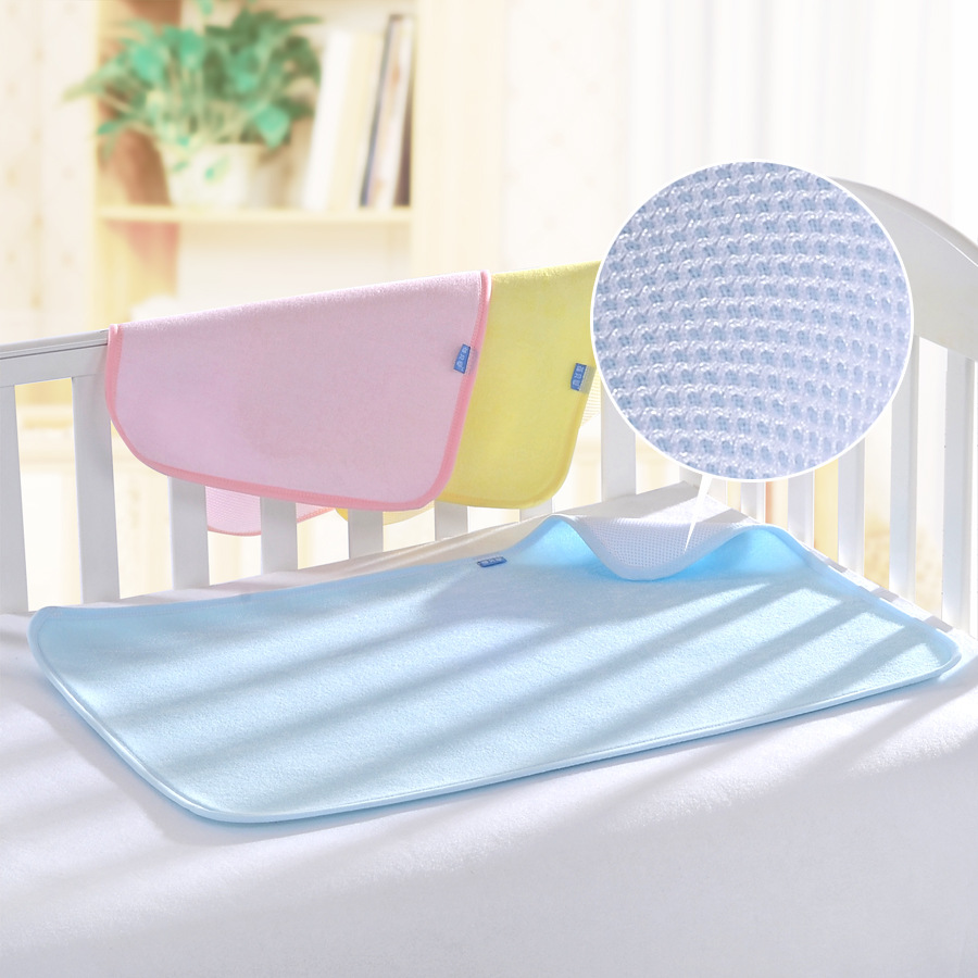 New Cotton Baby Infant Travel Home Cover Burp Baby Diaper Changing Pad Waterproof Travel Urinal Bamboo Fiber Mat