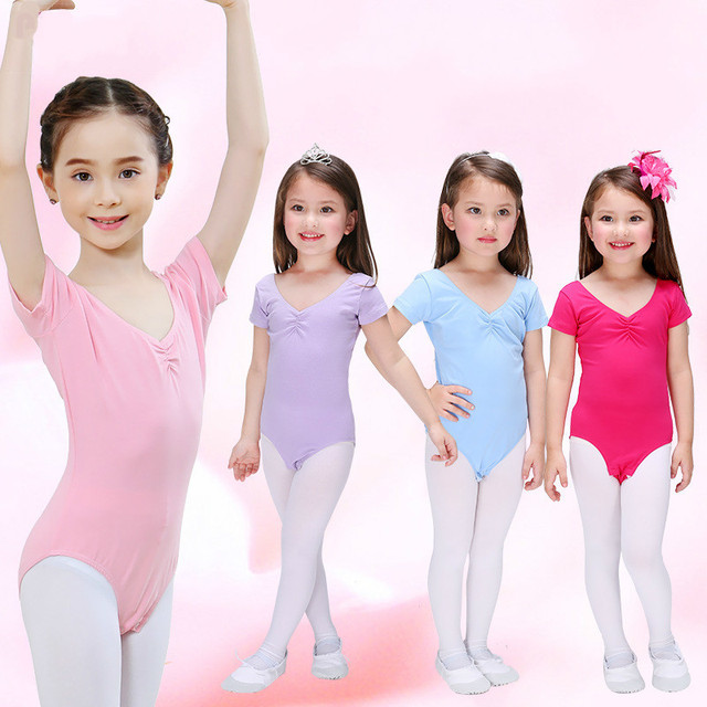 45f3c408cdeb toddler ballet leotards dancewear Children Kids gymnastics leotard ...