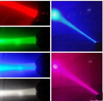 2 pçs lote Mais Novo dj iluminação