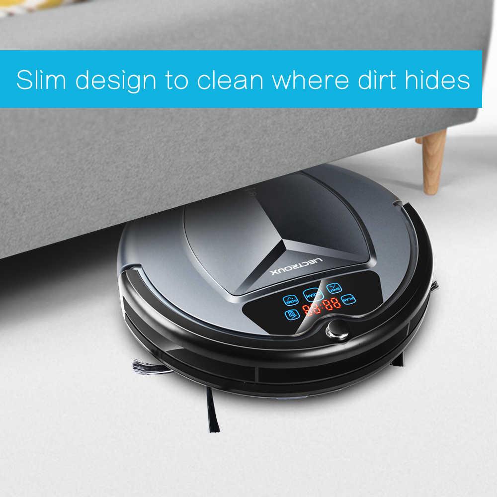 (Доставка из России) LIECTROUX B3000,робот пылесос с танком для воды (влажная и сухая уборка) сенсорный экран, фильтр HEPA, настройка времени уборки,виртуальная стена, авто подзарядка, уф тампа, тряпка,для дома