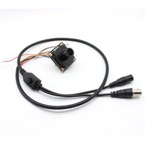 """Image 1 - HD 1080 P العهد 1/2. 9 """"سوني IMX323 + NVP2441 النجوم الإضاءة قليلة CCTV لوحة توصيل لكاميرا صغيرة أو كبيرة عن طريق USB وحدة PCB ، عدسة ircut كابل"""