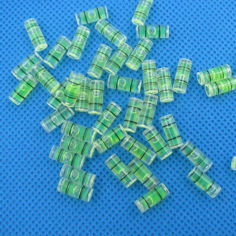 500 Pieces Lot 5 12mm Plastic Level Bubble Vials Small Spirit Level Mini bubble level