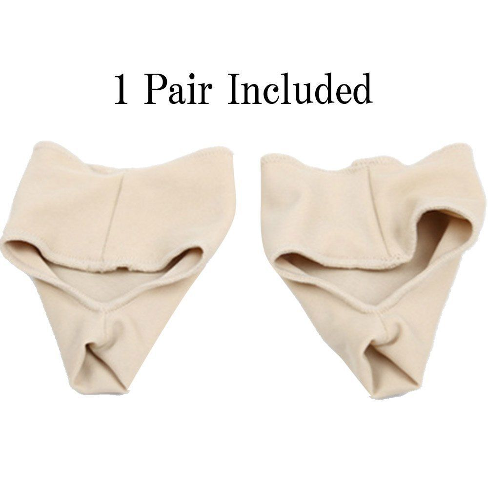 Aptoco 2 Pcs Bunion Corrector Gel Pad Stretch Nylon Hallux Valgus Protector Guard Toe Separator Orthopedic Supplies 3