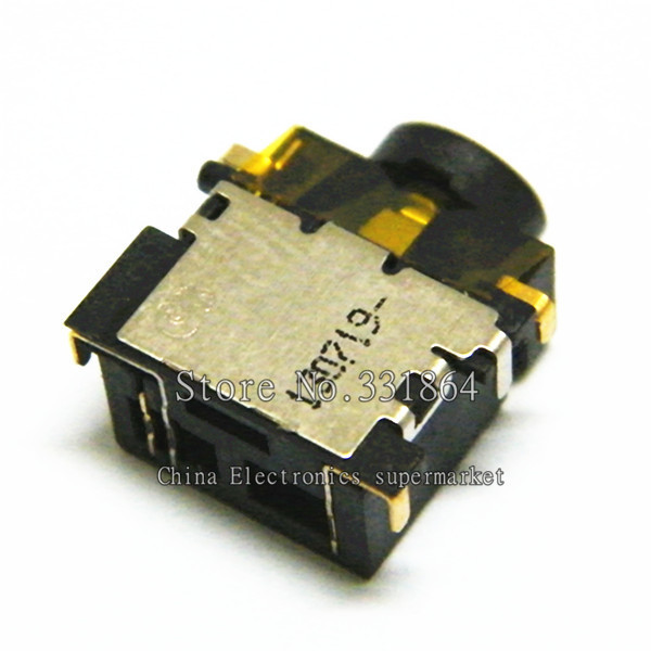 3.5mm audio jack For Dell HP Asus Lenovo Headset Microphone Port socket connector клавиатура lenovo hp