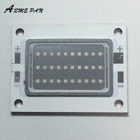Uvパープルライトled紫外線電球ランプ30ワット365nm 385nmではハイパワー光uv led 30ワット32*42ミリメートルボー