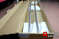 Для BMW X5 F15 2014 2015 Алюминий сплав Алюминий сплава серебра Чемодан Перевозчик барная столешница Багажник на крыше автомобиля баров Алюминий цв