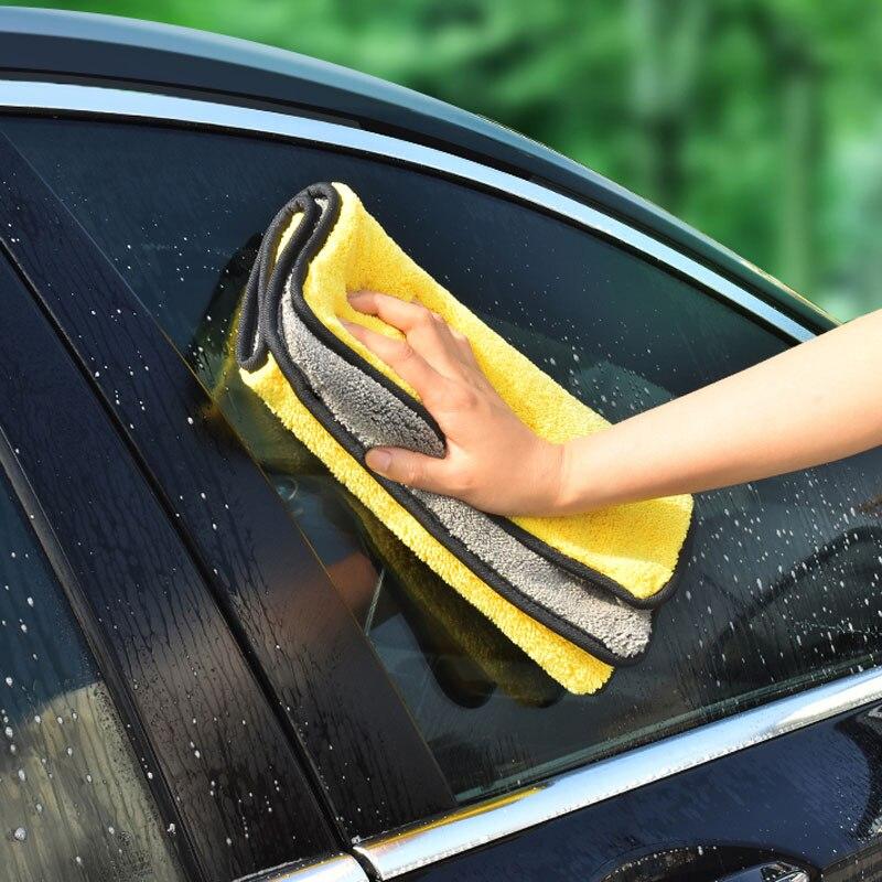 Automobiles & Motorcycles 1pcs 30x30cm Car Wash Microfiber Towel Super Absorbing Soft Cleaning Drying Car Care Cloth Car Wash Towel For Hyundai Ix35 Ix45